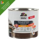 Эмаль для колеровки Dufa полуматовая 1.8 л прозрачная база 3