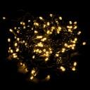 Электрогирлянда наружная «Занавес для ёлки» 1 м 200 LED тёплый белый