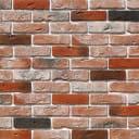 Плитка декоративная «Лондон Брик», цвет тёмно-оранжевый