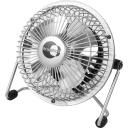 Вентилятор настольный Equation 15W 10см, серебристый