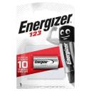 Батарейка литиевая Energizer CR123, 1 шт.
