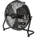 Вентилятор напольный Equation 45 Вт 30 см, металл, 3 скорости, черный