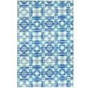 Дорожка ковровая ПВХ 65 см цвет синий