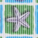 Дорожка ковровая ПВХ 65 см цвет зелёный