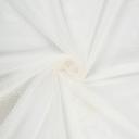 Тюль с вышивкой «Короны» сетка 290 см цвет кремовый