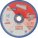 Диск отрезной по металлу Dexter Т41, 180x22мм