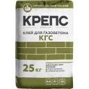 Клей для газобетона Крепс КГС, 25 кг