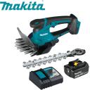 Ножницы аккумуляторные Makita DUM604ZX набор АКБ 3 Ач 1 шт быстрая зарядка и радио-фонарь