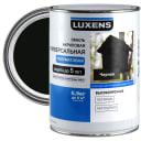 Эмаль универсальная Luxens 0.9 кг чёрный