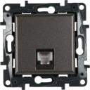 Телефонная розетка встраиваемая Legrand Structura RJ11, цвет магнезиум
