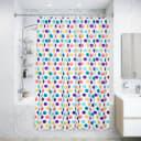 Штора для ванной комнаты «Конфетти», 180x180 см