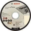 Диск отрезной по нержавейке Bosch, 115x1.6 мм