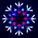 Фигура светодиодная Uniel «Снежинка»