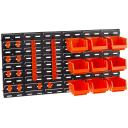 Набор лотков с крючками на решетке