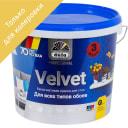 Краска для колеровки для обоев Pro Velvet прозрачная база 3 3.5 л