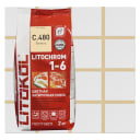 Затирка цементная Litochrom 1-6 C.480 цвет ваниль 2 кг