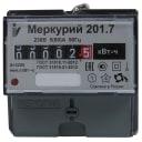 Счетчик электроэнергии Меркурий 201.7, однофазный