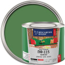 Эмаль Ярославские краски ПФ-115 глянцевая цвет зелёный 2.2 кг