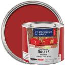 Эмаль Ярославские краски ПФ-115 глянцевая цвет красный 2.2 кг