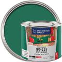 Эмаль Ярославские краски ПФ-115 глянцевая цвет ярко-зелёный 2.2 кг