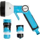 """Набор Пистолет-распылитель для полива Cellfast Eco Plus с коннекторами 1/2"""" 4 режима"""