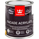 Краска фасадная Facade Acrylate 0.9 л цвет белый