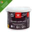 Краска для колеровки фасадная Facade Acrylate 5 л цвет прозрачный