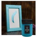 Краска акриловая Aturi цвет бирюзовый перламутр 60 г
