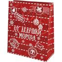 Пакет подарочный «От Дедушки Мороза» 41x49 см