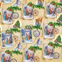 Бумага упаковочная «Праздничные заметки» 70x100 см