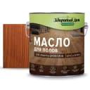 Масло для пола цвет махагон 2.7 л