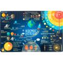 Коврик настольный «Космос», 38x58 см, полипропилен