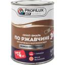 Эмаль по ржавчине 3 в 1 ProfiLux DIY цвет хаки 0.9 кг