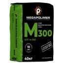 Смесь цементно-песчаная Мегаполимер М300, 40 кг