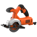 Циркулярная мини-пила Black&Decker BES510-QS, 400 Вт, 85 мм