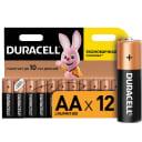 Батарейка алкалиновая Duracell AA/LR6 12 шт