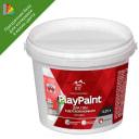 Краска для колеровки для стен в детской комнате Parade PlayPaint матовая прозрачная база C 0.25 л