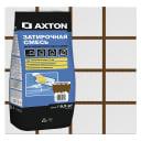 Затирка цементная Axton А.400 цвет коричневый 2 кг