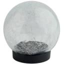 Светильник уличный на солнечной батарее, шар, 15 см