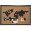 Карта мира пробковая 38x58 см