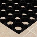 Коврик Flavio 100x150 см, резина, цвет чёрный