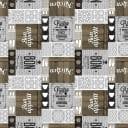 Скатерть «Бон Аппетит» 160x135 см ПВХ