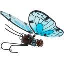 Фигура садовая «Голубая бабочка» высота 12.5 см