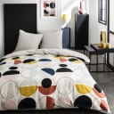 Набор постельного белья Сканди полутораспальный сатин разноцветный