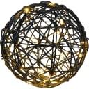 Электрогирлянда-фигура «Шар» для улицы 20 ламп, 25 см, цвет тёплый белый