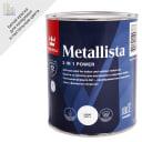 Краска по ржавчине Metallista цвет белый глянцевый 0.8 л