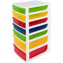 Органайзер для мелких игрушек А42 260х700х360 мм, 7 ящиков, пластик