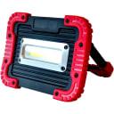 Прожектор аккумуляторный светодиодный уличный 15 Вт COB 6500К IP65 с режимом RGB переносной с портом USB и функцией powerbank
