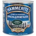 Краска по ржавчине 3 в 1 Hammerite цвет зелёный мох 2.2 л