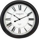 Часы настенные, цвет чёрный, 38 см